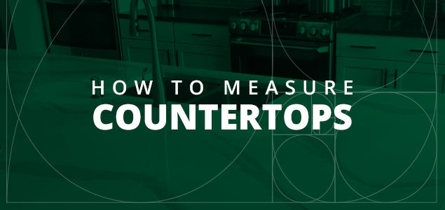 How To Measure Countertops With